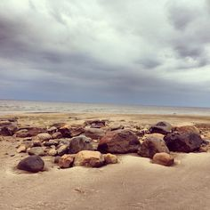 Beach rocks in Hailuoto, Oulu, Finland - just awesome.