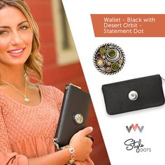 Feel put-together when your wallet matches your outfit! #syledots