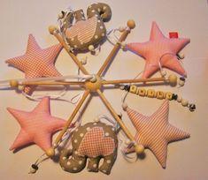 Mobile - Name ♥ Mobile ♥Elefanten unterm Sternenhimmel ♥ - ein Designerstück von MiniPhants bei DaWanda