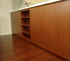 カウンター下収納 サイズ:W2780×D215×H960 家具本体税抜き価格:¥171,000.-