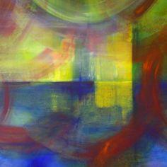 """#brighart verkoopt haar #schilderij 'Reverie A' via KUNSTmarktplaats.nl. #kunst #art #painting #abstract """"reverie"""