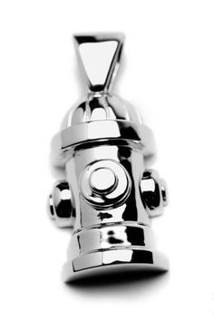 Lisa Welch - Charm - Sterling Silver - Fire Hydrant - Large, Women's, Size: H Fire Hydrant Colors, Dog Best Friend, Animal Jewelry, Sterling Silver Pendants, Jewelry Design, Charmed, Pendant Necklace, Lisa, Ebay