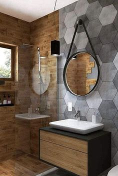 Simple Bathroom Designs, Minimalist Bathroom Design, Contemporary Bathroom Designs, Bathroom Design Luxury, Bathroom Design Small, Interior Design Kitchen, Small Bathroom Interior, Bathroom Ideas, Kitchen Decor
