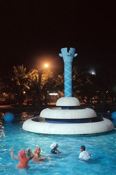 DURBAN, SOUTH AFRICA ~ this is an updated version of the fountains we used to swim in on the Durban beachfront