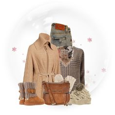 Cozy warm!, created by sherry7411 on Polyvore