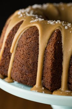 An easy video demonstration showing How to Ice a Bundt Cake. Make your Bundt cakes look as beautiful as they taste with minimal effort!