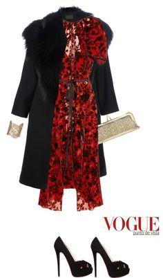 """Dress by JUNYA WATANABE"" by fashionmonkey1 ❤ liked on Polyvore"