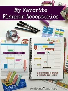 Fun Favorite Planner Accessories