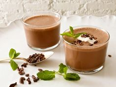 Enjoy the flavor of fresh mint and get a caffeine boost to jump-start your morning from this delicious Chocolate with Coconut and Mint Smoothie.