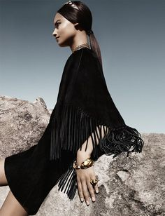 Ad Campaign: Valentino Spring Summer 2014 Models: Auguste Abeliunaite, Malaika Firth, Ine Neefs, Maartje Verhoef & Esther Heesch Photographer: Craig McDean Fashion Editor: Karl Templer