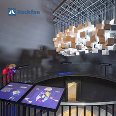 The leisure centre Naturkraft, Denmark, provides surroundings to expand visitors knowledge about #nature and its forces so visitors can get inspired. They installed Rockfon Color-all® acoustic panels to offer the best #sound-absorption solution with great availability of #colours and #shapes to create a unique space. #SoundsBeautiful #acoustics #ceilingdesign #Rockfon #interiordesign #noiseabsorbing #designinspiration #designideas #modernceiling #architecturedesign Acoustic Ceiling Tiles, Acoustic Panels, Ceiling Design, Wall Design, Sound Absorption, Modern Ceiling, Visual Comfort, Denmark, Architecture Design