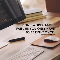"""""""Don't worry about failure; you only have to be right once"""" - Drew Houston.  Brand Me Famous Academy launching soon! Sign-up to be a part of it www.brandmefamous.... #entrepreneur #entrepreneurship #southafrica #dowhatyoulove #startups #business #online #onlinebusiness #instadaily #motivation #inspiration #creatives #branding #marketing #buildyourbrand #ownbusiness #ownbrand #academy #mentorship #life #justdoit #knowledge #success #yolo"""