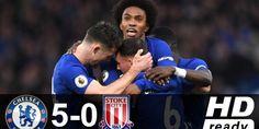 Chelsea vs Stoke City Full Highlights Premier League