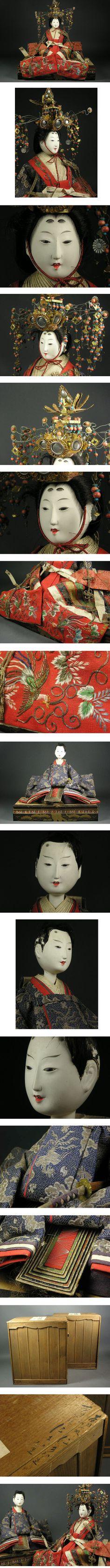 hina dolls Hina Dolls, Art Dolls, Hina Matsuri, Japanese Doll, Asian Doll, Ichimatsu, Masks Art, Japan Art, Nihon