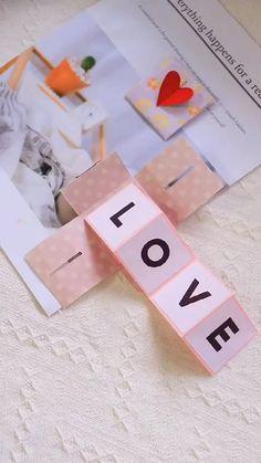 Diy Crafts Hacks, Diy Crafts For Gifts, Creative Crafts, Crafts For Kids, Magic Crafts, Easy Paper Crafts, Paper Crafts Origami, Origami Cards, Paper Flowers Craft