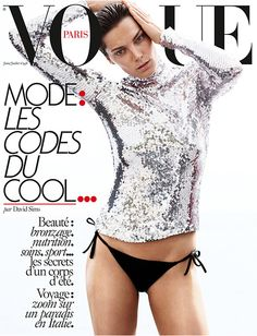 Vogue Paris June/July 2015, Daria Werbowy