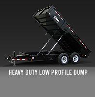 Heavy Duty Low Profile Dump Trailer