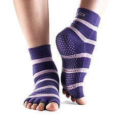 ToeSox Toeless Yoga / Pilates Quarter Socks, Pair (FootSmart.com)