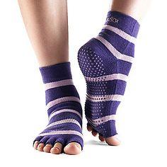 ToeSox Toeless Yoga / Pilates Quarter Socks, Pair (FootSmart.com)