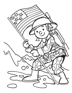Veterans Day Coloring Page | *♧* Busy Kids Printables *♧* | Pinterest |  School, Pre School And Social Studies