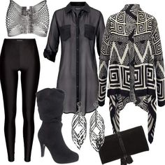 Entertain | Stylaholic #fashion #style #outfit #look #dress #mode #sexy #trend #luxury