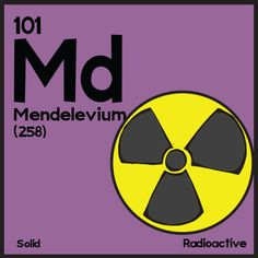 Mendelevium. http://www.angrysquirrelstudio.com/?p=3989