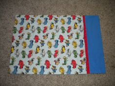 Jason's pillowcase..