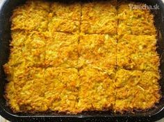 Hokkaido kocky (fotorecept) - Recept Veggie Recipes, Lasagna, Banana Bread, Macaroni And Cheese, Food And Drink, Vegetarian, Baking, Vegetables, Ethnic Recipes