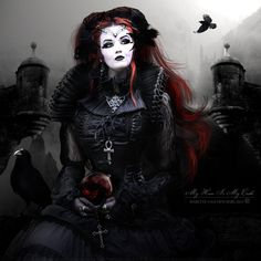 Welcome to my gothic realm Vintage Gothic, Victorian Gothic, Itachi, Vampire Pictures, Gothic Pictures, Modern Goth, Goth Glam, Goth Subculture, Beautiful Dark Art