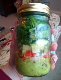 Tone It Up - Recipe Profile - Mediterranean Salad in a Jar