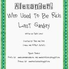 After reading the book, Alexander, Who Used to Be Rich Last Sunday, complete the cause and effect worksheet. Students will add the missing cause or effect to the blank box. Cause And Effect Worksheets, Cause And Effect Activities, Sunday Activities, Teaching Activities, Art Activities, Reading Lessons, Teaching Reading, First Grade Science, Reading Street