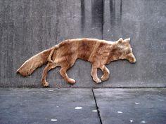 Neozoon, Fox, installation, 2011 | Image © MOTI | #design