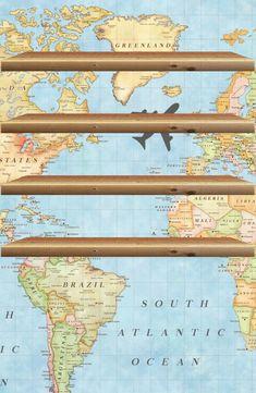 Wallpaper Shelves, Atlantic Ocean