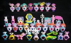i totally still have the little star/pony on the bottom row (my grils play w/ it!) and i had the little baby bed and girl that came w/ it for awhile (till my girls broke it!)