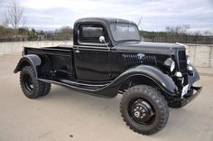 1935 Ford 4x4 dual rear axle custom built pickup
