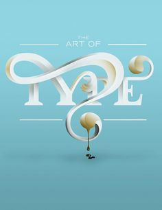 A feature opener for Advanced Photoshop Magazine on 'The Art of Type' by Steven Bonner, via Behance Creative Typography Design, Typo Design, Typography Love, Typography Letters, Typography Poster, Calligraphy Letters, 3d Design, Cover Design, Design Trends