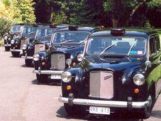 Classic FX4 London taxis http://ourlondontaxi.blogspot.com/