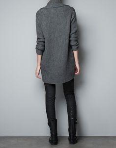 LONG CARDIGAN - Knitwear - Woman - ZARA United States