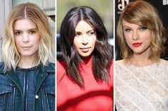 How to Get a Textured Long Bob - How to Get Kim Kardashian's Bob - Redbook
