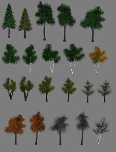 Lowpoly Tree - old stuff by reQuiem3d