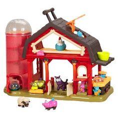 B. Baa-Baa-Barn Farm house : Target