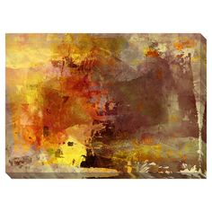 Ablaze I Oversized Gallery Wrapped Canvas | Overstock.com