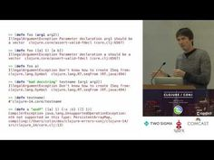 Improving Clojure's Error Messages with Grammars - Colin Fleming - YouTube