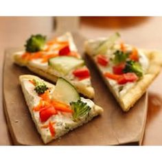 Easy Veggie Pizza from allrecipes.com...  Great app to serve at parties!
