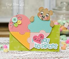 """Brigit's Scraps """"Where Scraps Become Treasures"""": Peachy Keen Stamps Face Day Valentine Project!"""