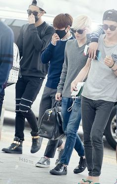 Exo <3 140912 | Airport (Incheon to Bangkok)