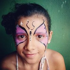Face Painting in Greenpoint, Williamsburg, Long Island City, Astoria, Sunnyside. Book a Face Painter for your next birthday party Long Island City, Carnival, Nyc, Butterflies, Painting, Carnavals, Painting Art, Butterfly, Paintings