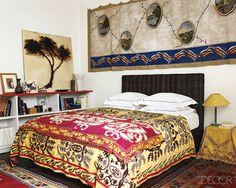 parisian chic interiors | Chic-Paris-Apartment-of-designer-eclectic-Paris-apartment-home ...