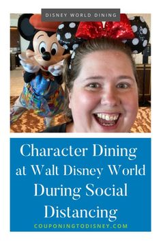 Character Dining at Walt Disney World During Social Distancing Dining At Disney World, Disney Dining Plan, Disney World Vacation Planning, Walt Disney World Vacations, Disney World Characters, Disney World Restaurants, Disney World Tips And Tricks, Disney Springs, Mickey And Friends