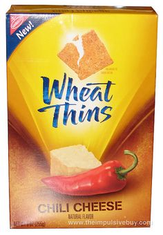 REVIEW: Nabisco Chili Cheese Wheat Thins